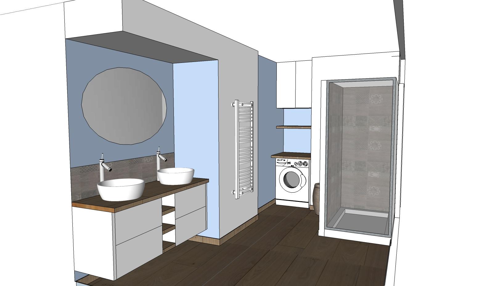 Salle De Bain Buanderie ~ cuisine salle de bain le feel du bois